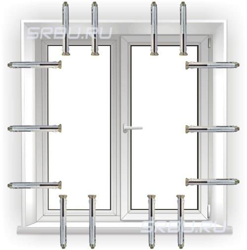 Способы установки пластиковых окон